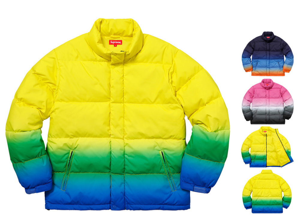 Gradient Puffy Jacket