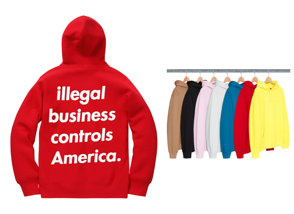 Illegal Business Hooded Sweatshirt