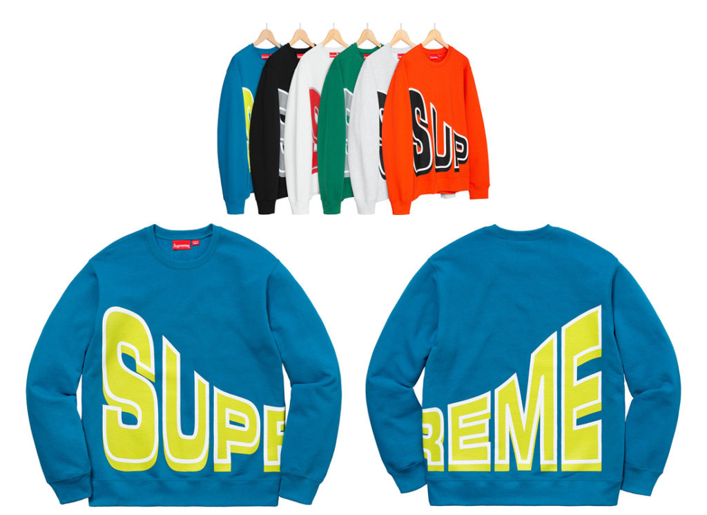 Side Arc Crewneck