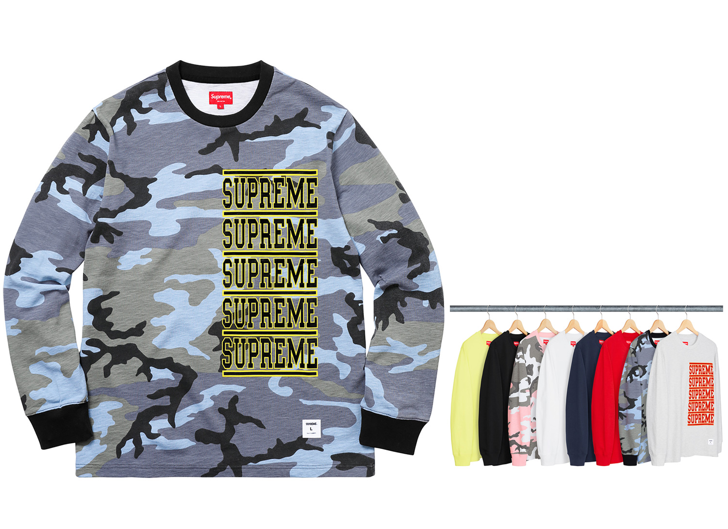Stacked L/S Top