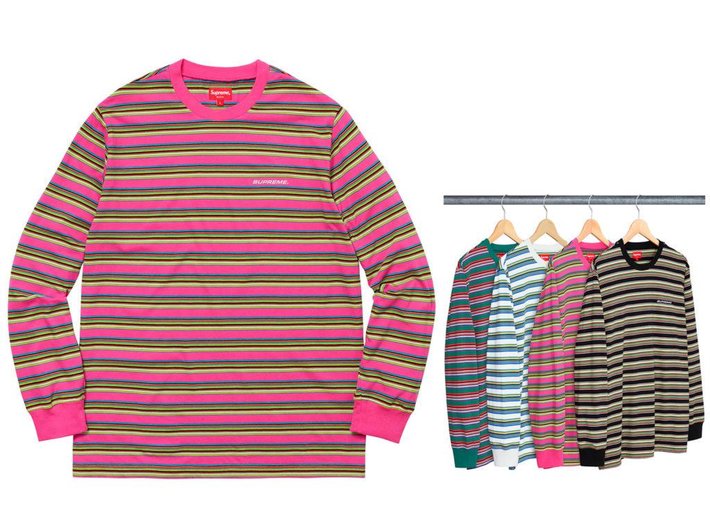 Multi Stripe L/S Top