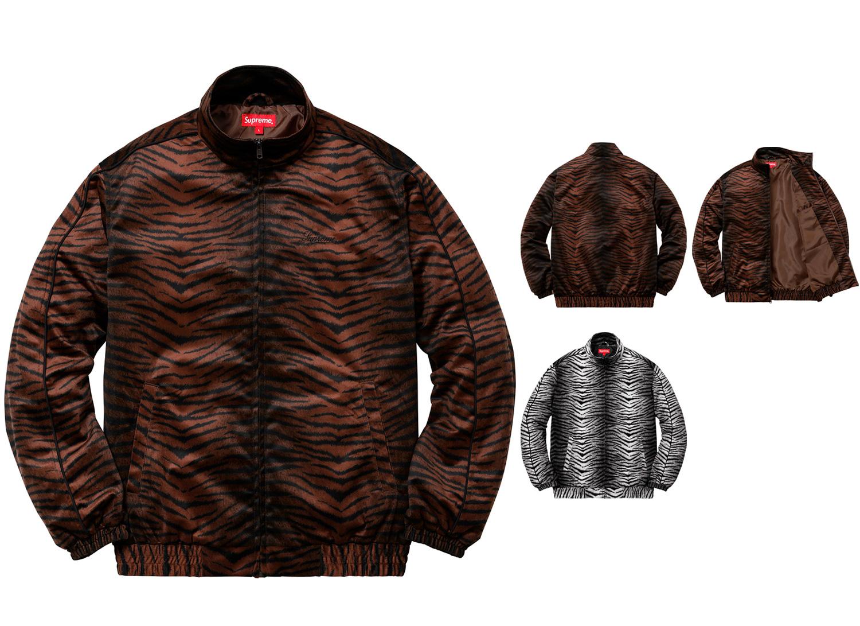 Tiger Stripe Track Jacket