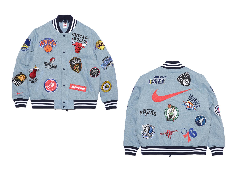 Supreme®/Nike®/NBA Warm-Up Jacket