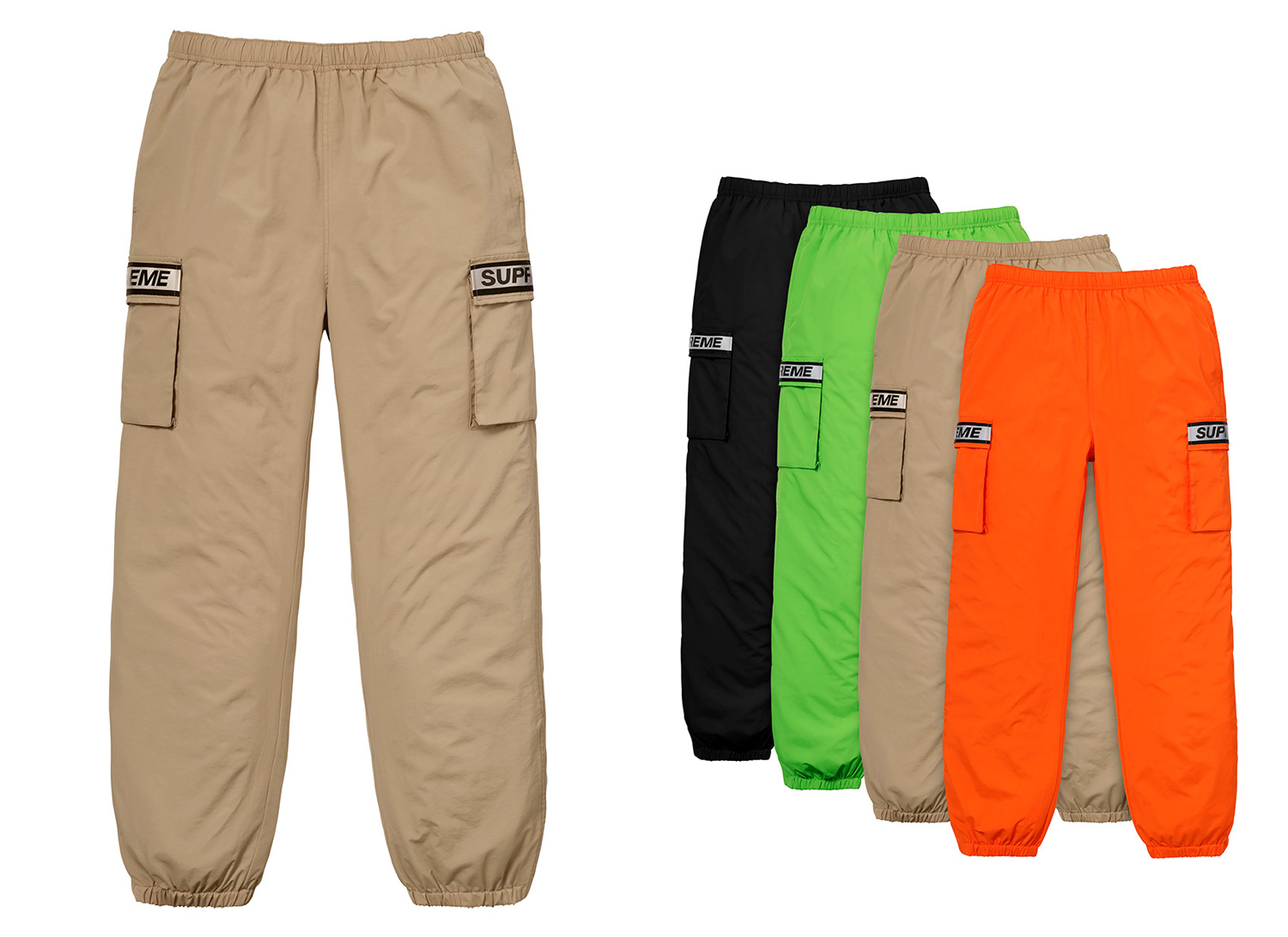 Reflective Taping Cargo Pant