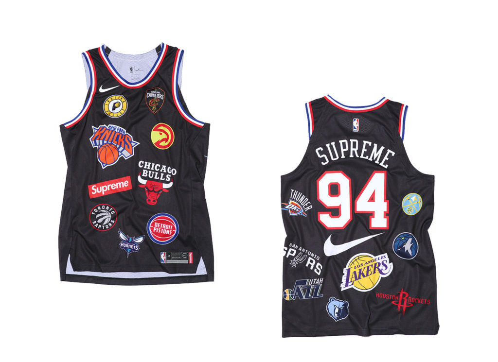 Supreme®/Nike®/NBA Jersey (black)