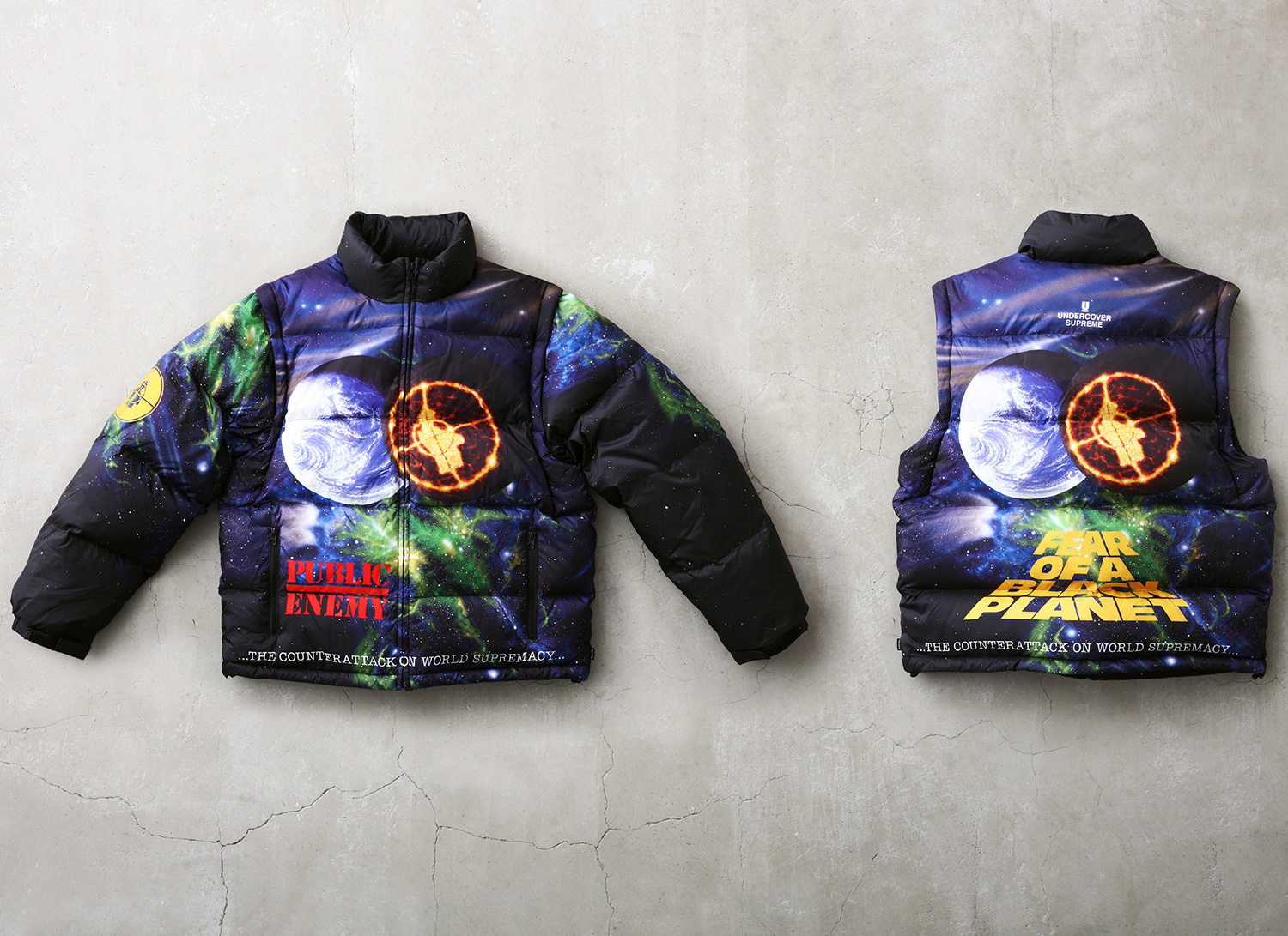 Supreme®/UNDERCOVER/Public Enemy Puffy Jacket