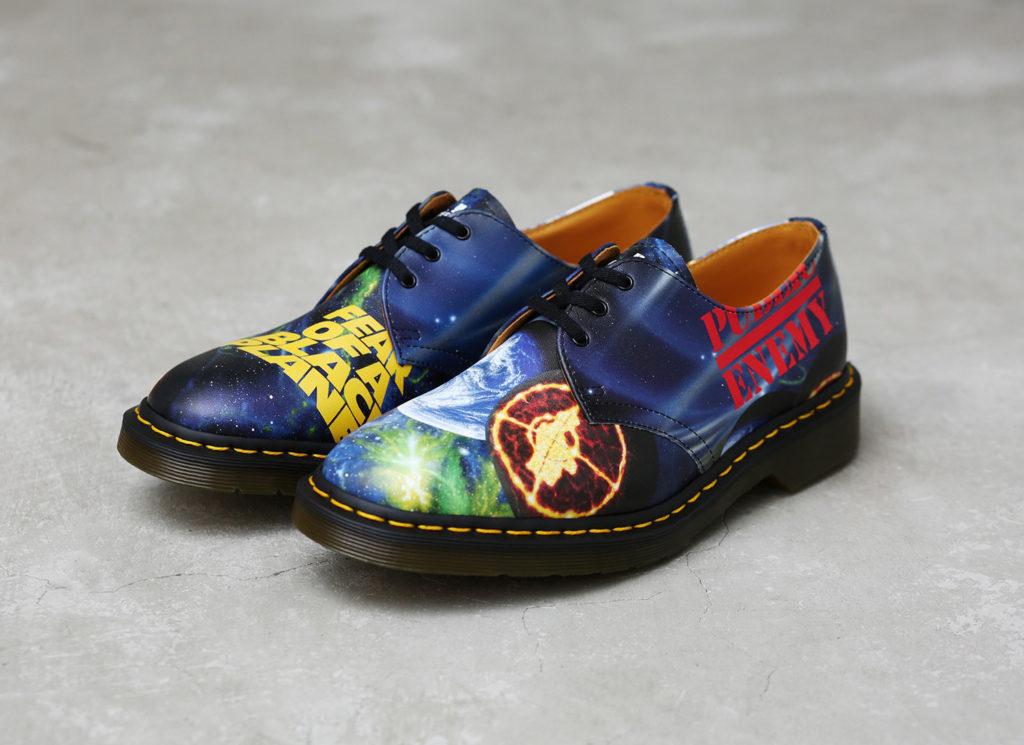 Supreme®/UNDERCOVER/Dr. Martens®/Public Enemy 3-Eye Shoe