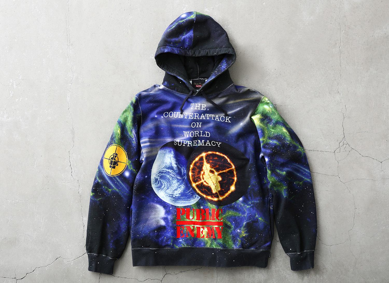Supreme®/UNDERCOVER/Public Enemy Hooded Sweatshirt
