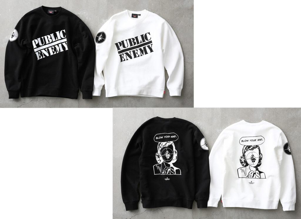 Supreme®/UNDERCOVER/Public Enemy Crewneck Sweatshirt