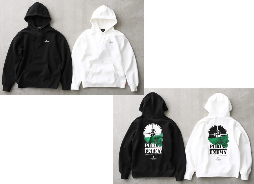 Supreme®/UNDERCOVER/Public Enemy Terrordome Hooded Sweatshirt