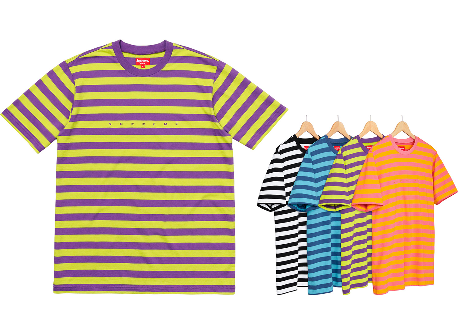 Bar Stripe Tee
