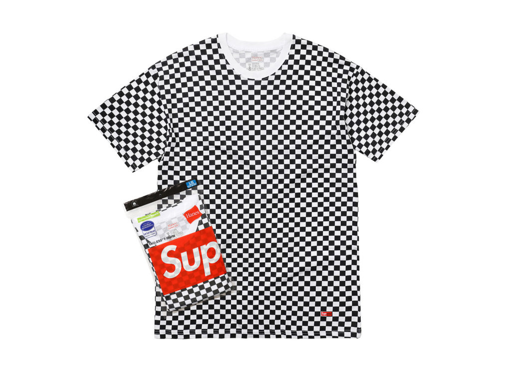 Supreme®/Hanes® Tagless Tees [Checkered]