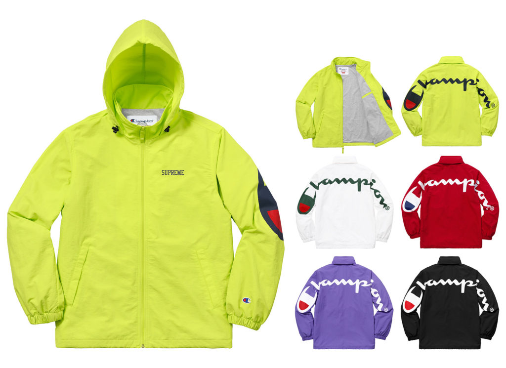 Supreme®/Champion® Track Jacket