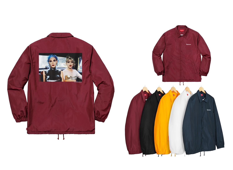 Nan Goldin/Supreme Misty and Jimmy Paulette Coaches Jacket
