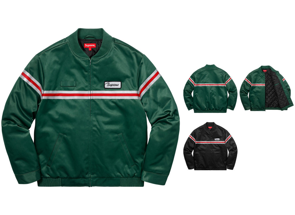 Reflective Stripe Work Jacket