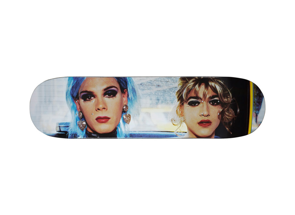 Nan Goldin/Supreme Misty and Jimmy Paulette Skateboard