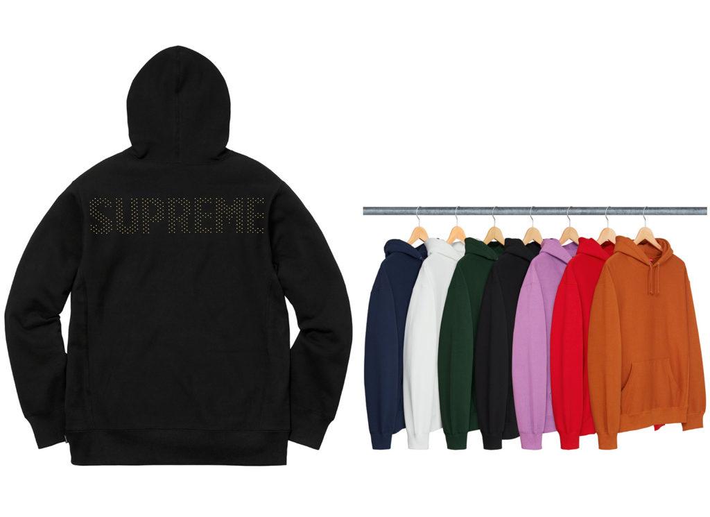 Studded Hooded Sweatshirt