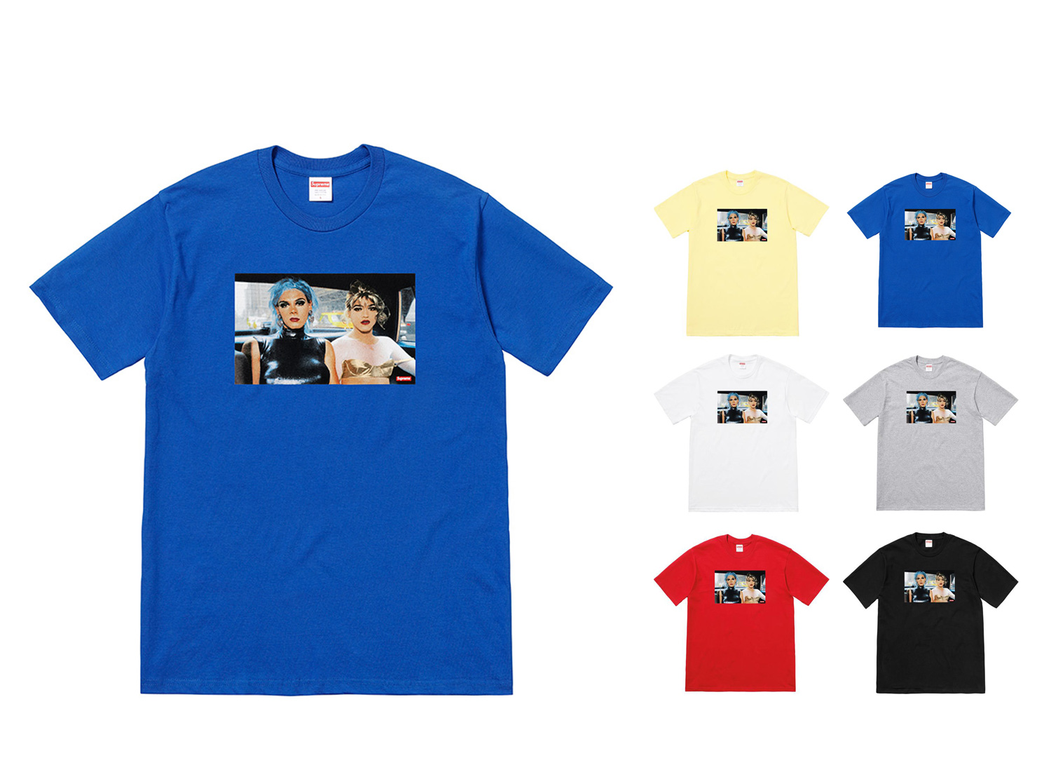 Nan Goldin/Supreme Misty and Jimmy Paulette Tee