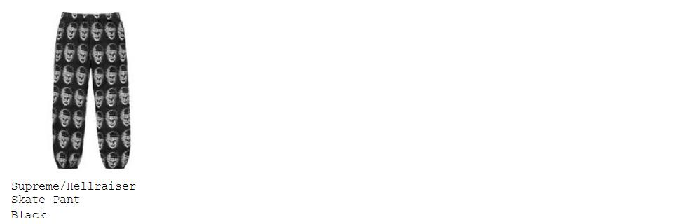 supreme 18ss week10 オンライン配置 パンツ