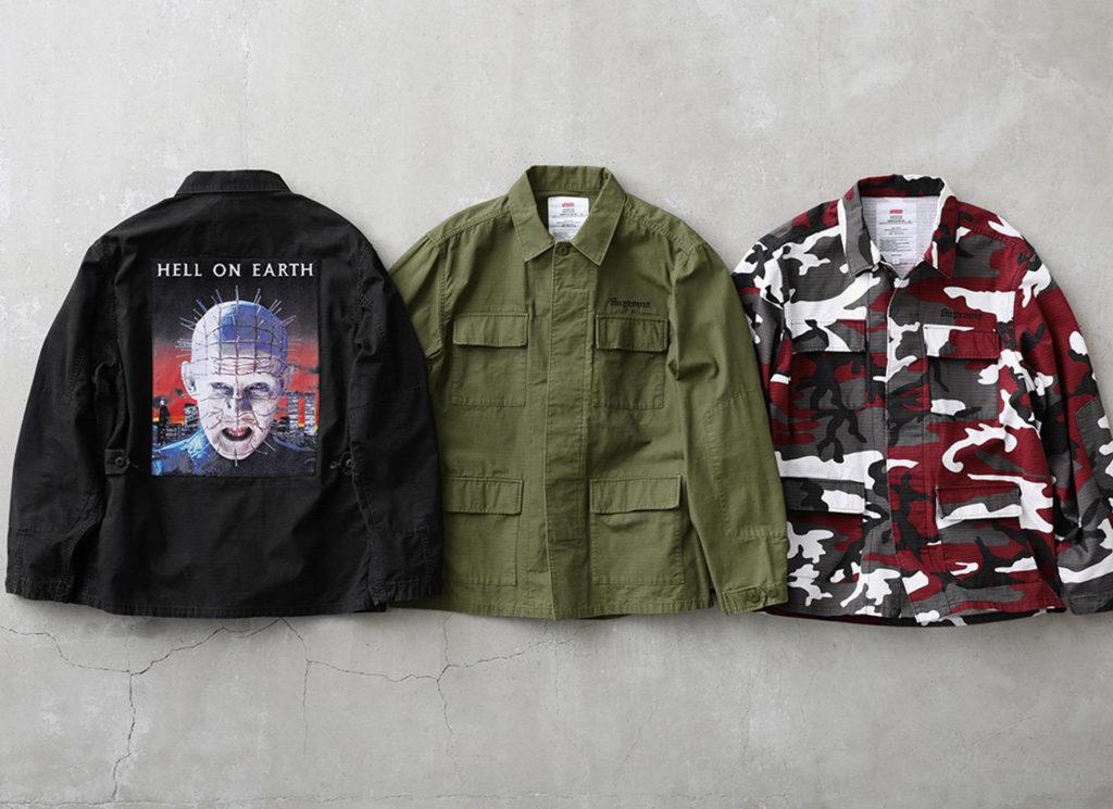 Supreme/Hellraiser BDU Shirt