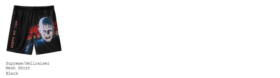 supreme 18ss week10 オンライン配置 ショーツ