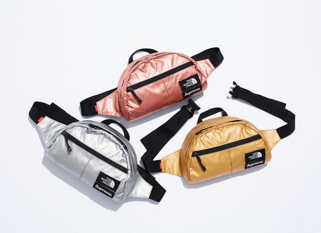 Supreme®/The North Face® Metallic Roo II Lumbar Pack