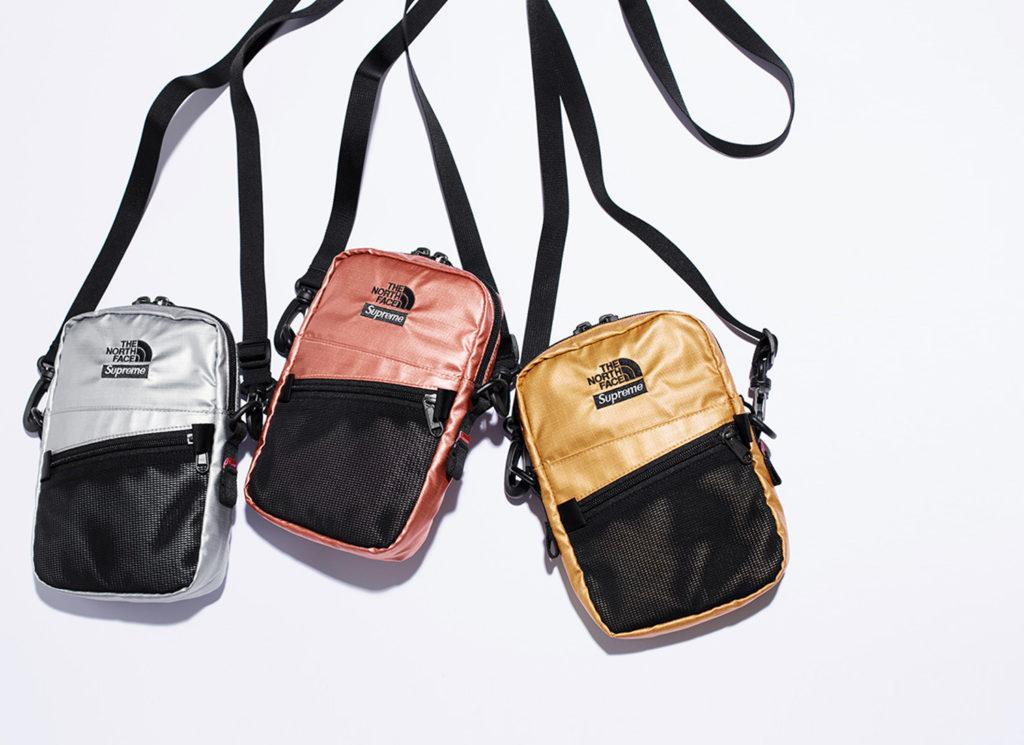Supreme®/The North Face® Metallic Shoulder Bag