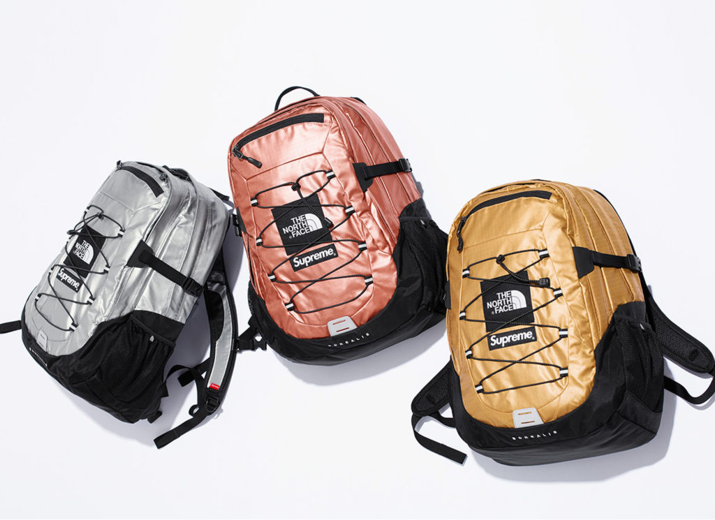 Supreme®/The North Face® Metallic Borealis Backpack