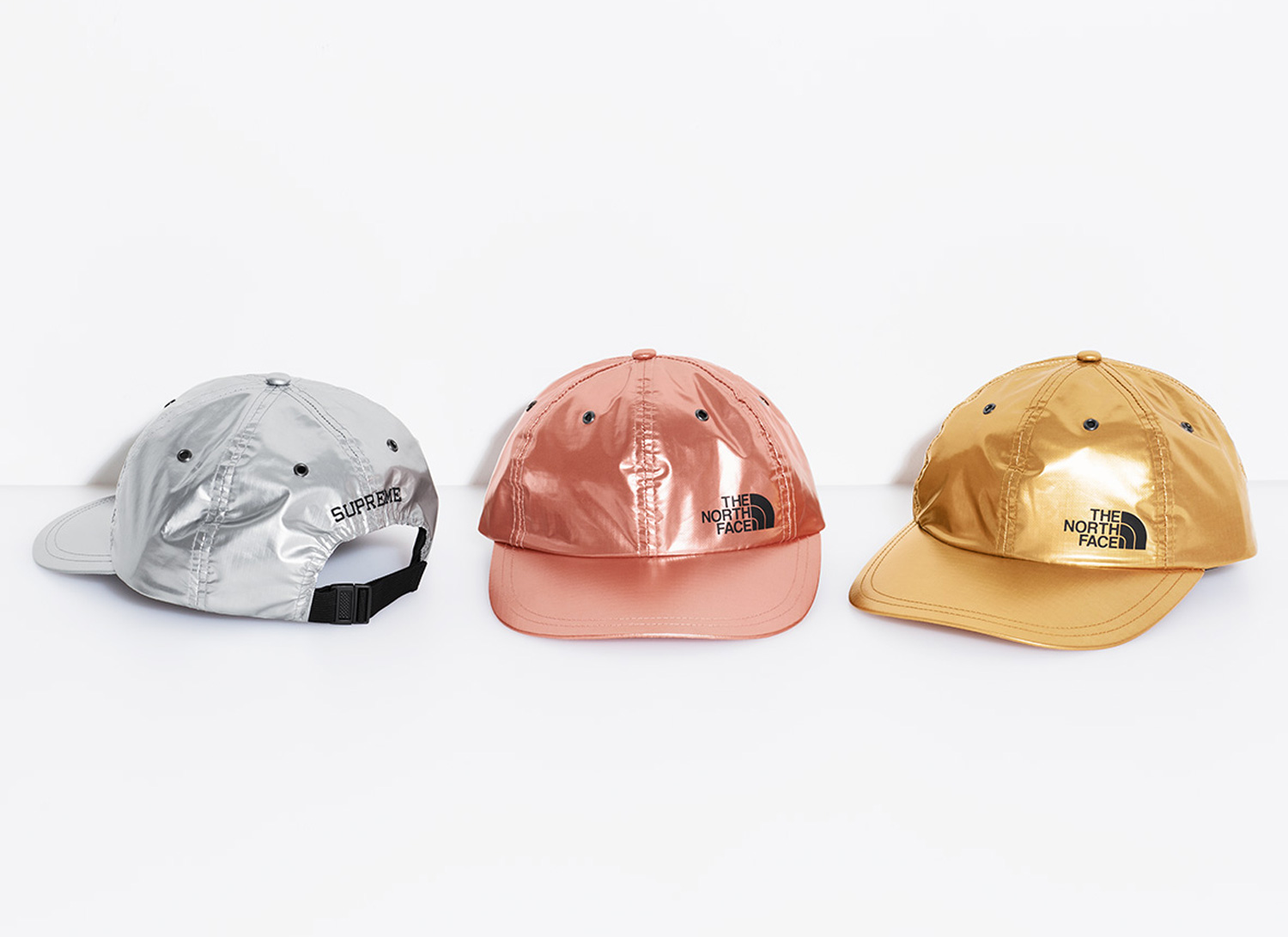 Supreme®/The North Face® Metallic 6-Panel Hat