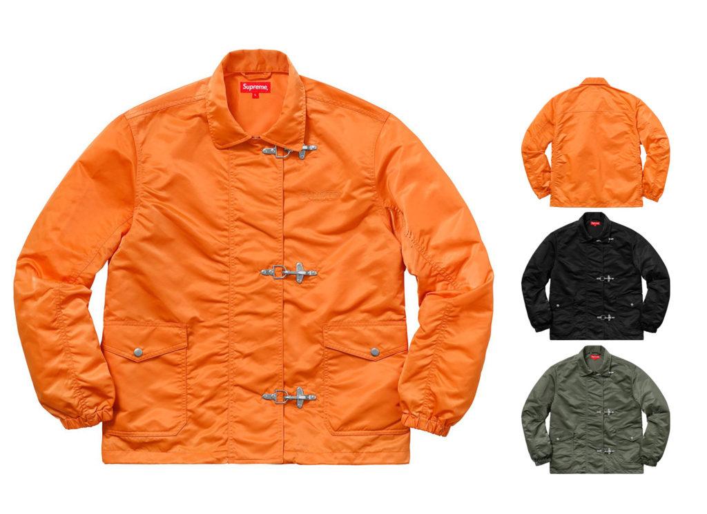Nylon Turnout Jacket