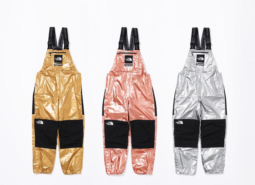 Supreme®/The North Face® Metallic Bib Pants