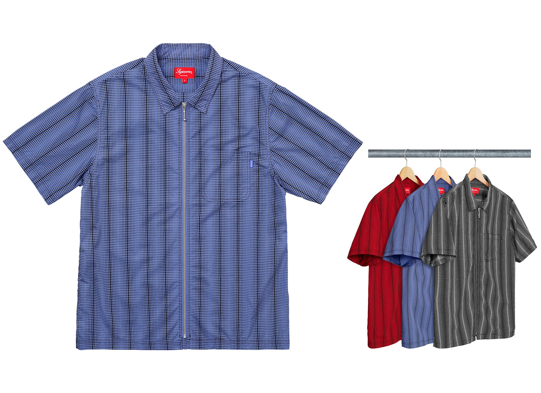 Dots Zip Up Shirt