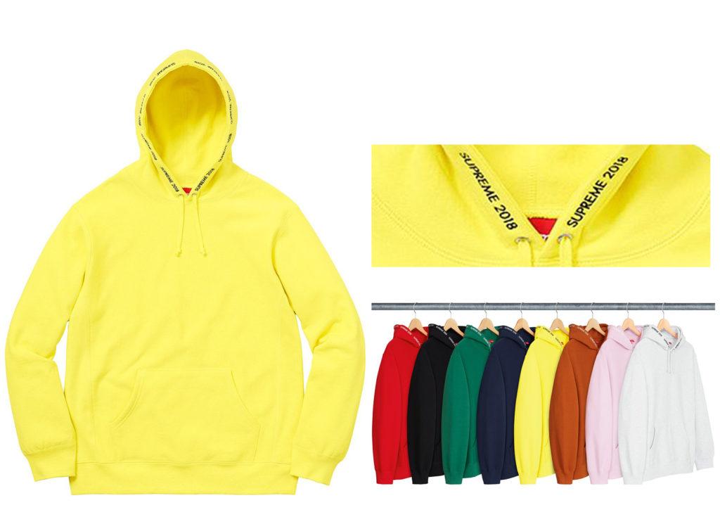 Channel Hooded Sweatshirt