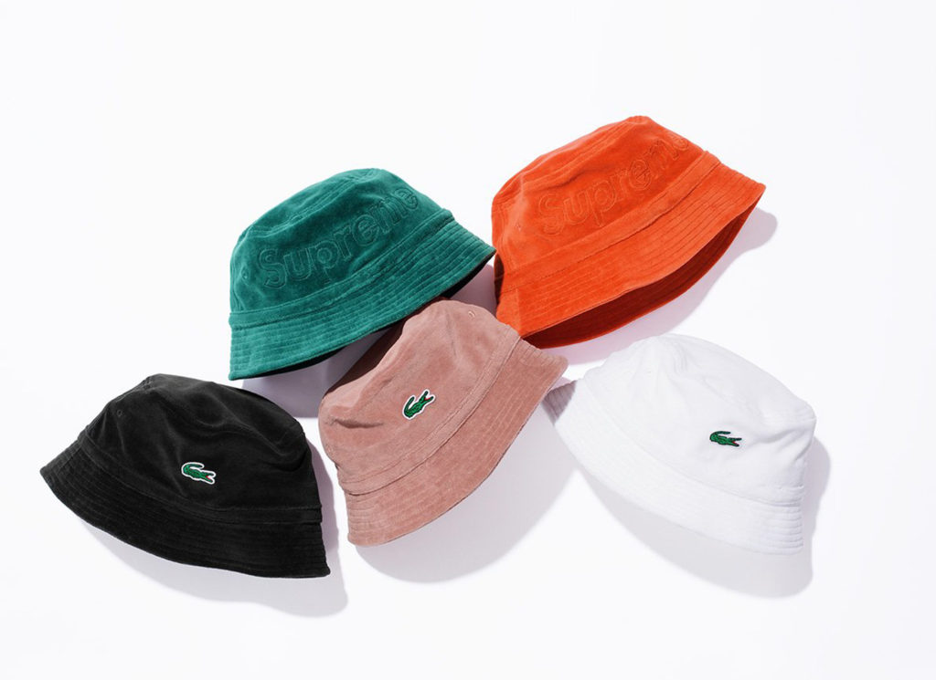 Supreme®/LACOSTE Velour Bucket