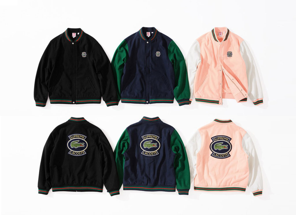 Supreme®/LACOSTE Wool Varsity Jacket