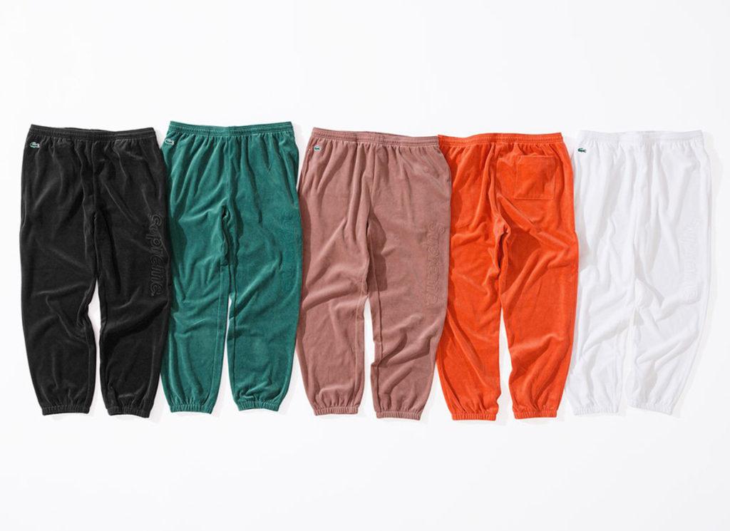 Supreme®/LACOSTE Velour Track Pant