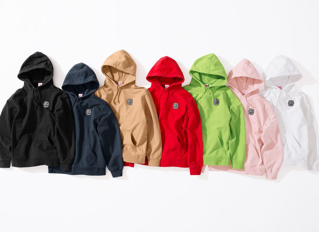 Supreme®/LACOSTE Hooded Sweatshirt