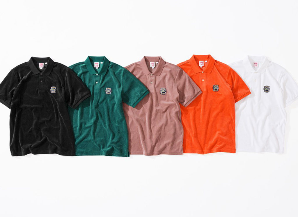 Supreme®/LACOSTE Velour Polo