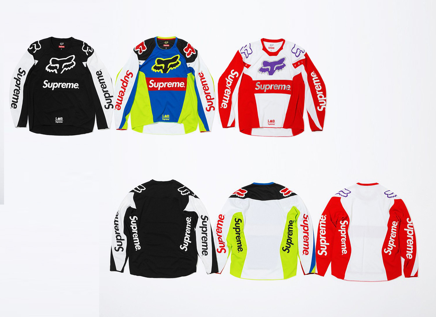 Supreme®/Fox Racing® Moto Jersey Top