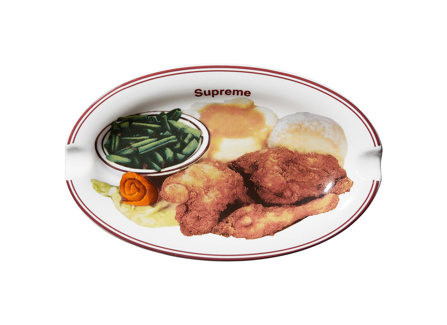 Chicken Dinner Plate Ashtray