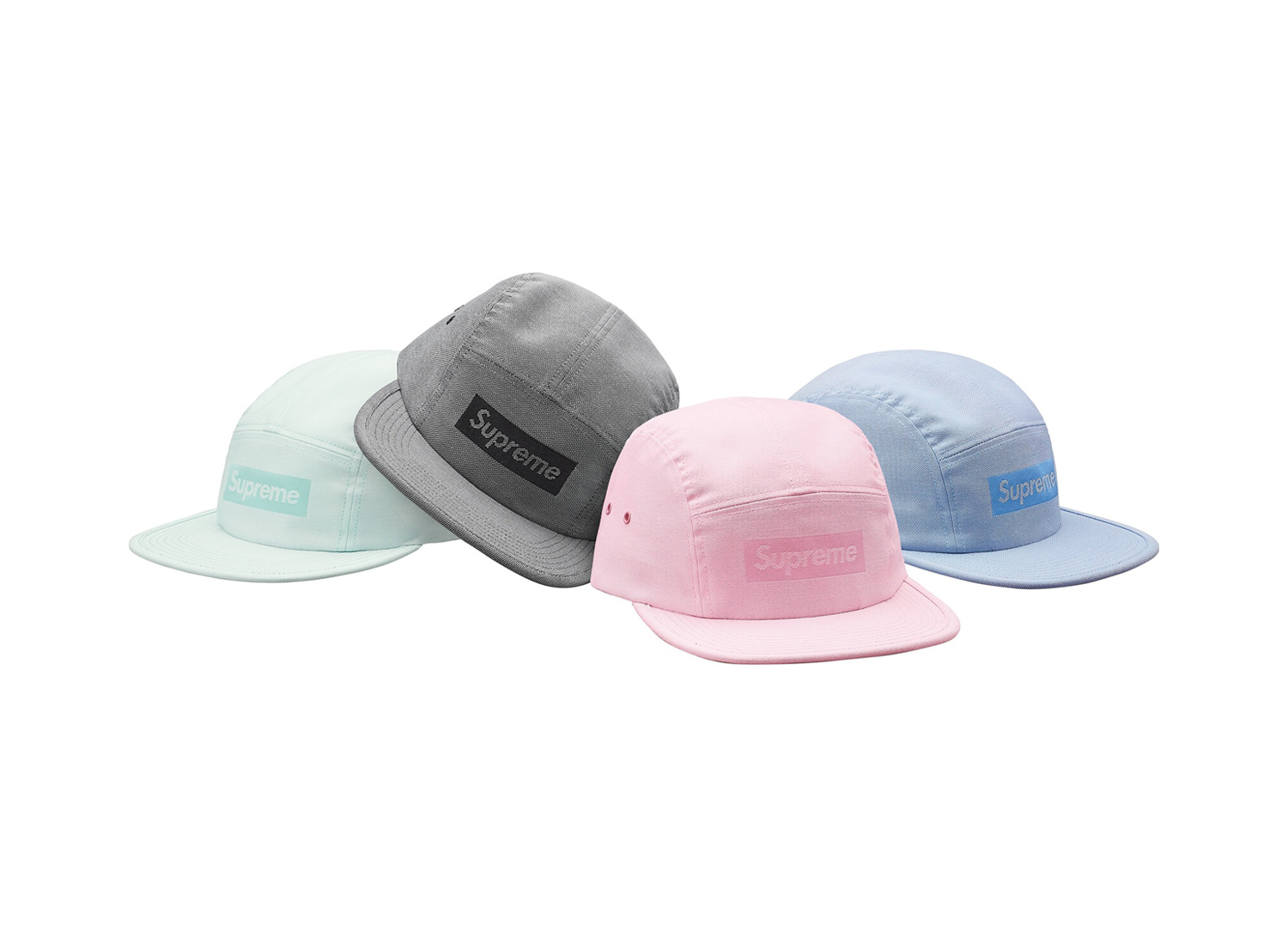 Jacquard Box Logo Camp Cap