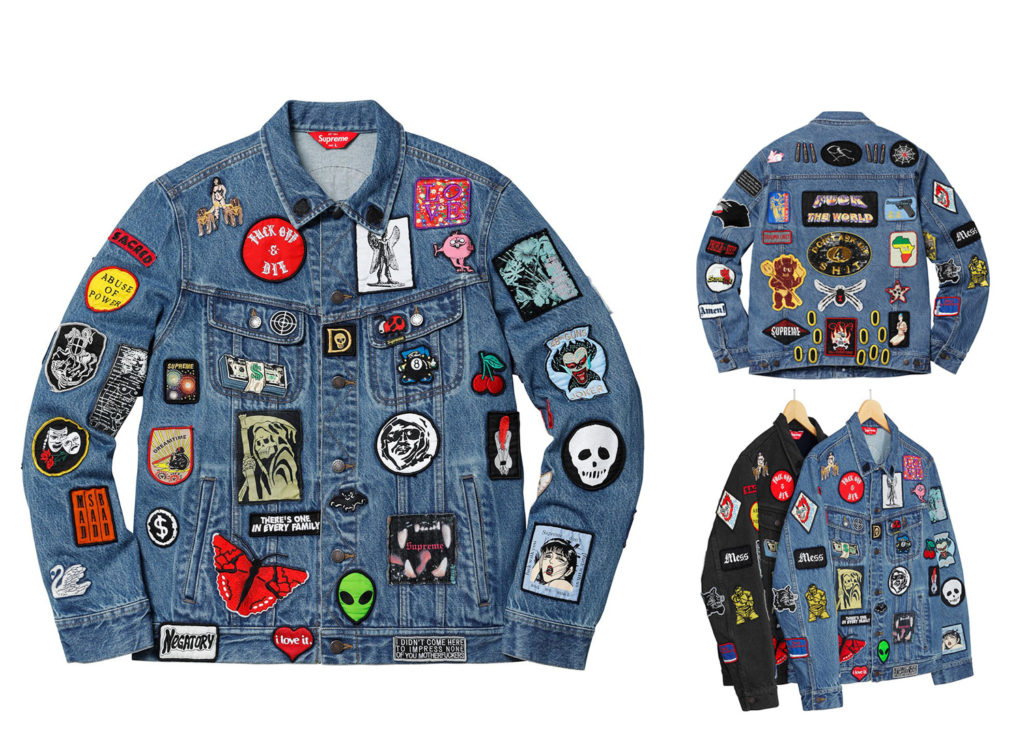 Patches Denim Trucker Jacket