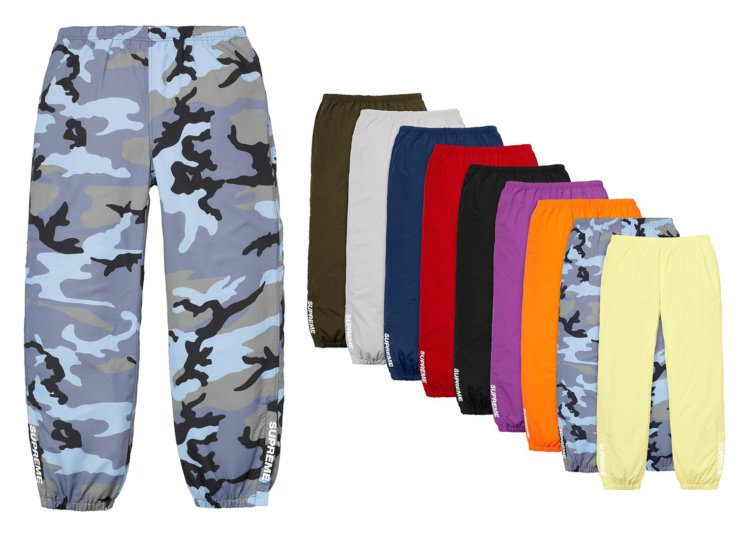 supreme 18ss week13 Warm Up Pant