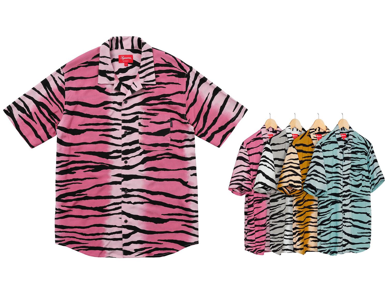 Tiger Stripe Rayon Shirt