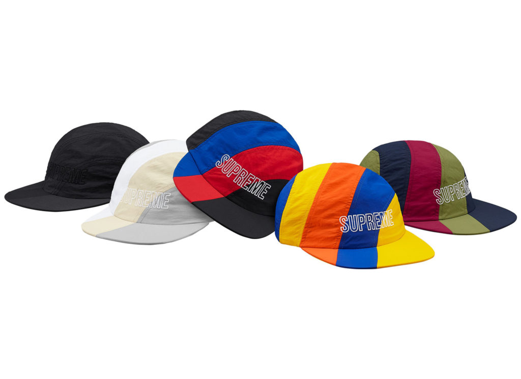 Diagonal Stripe Nylon Hat