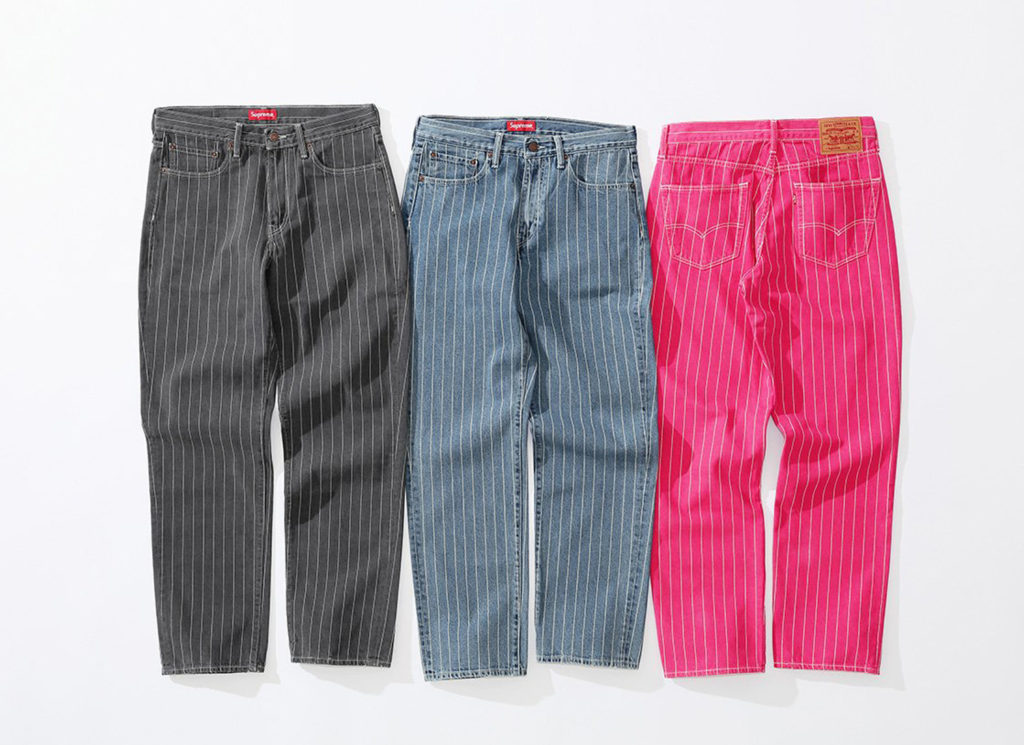 Supreme®/ Levi's® Pinstripe 550 Jeans