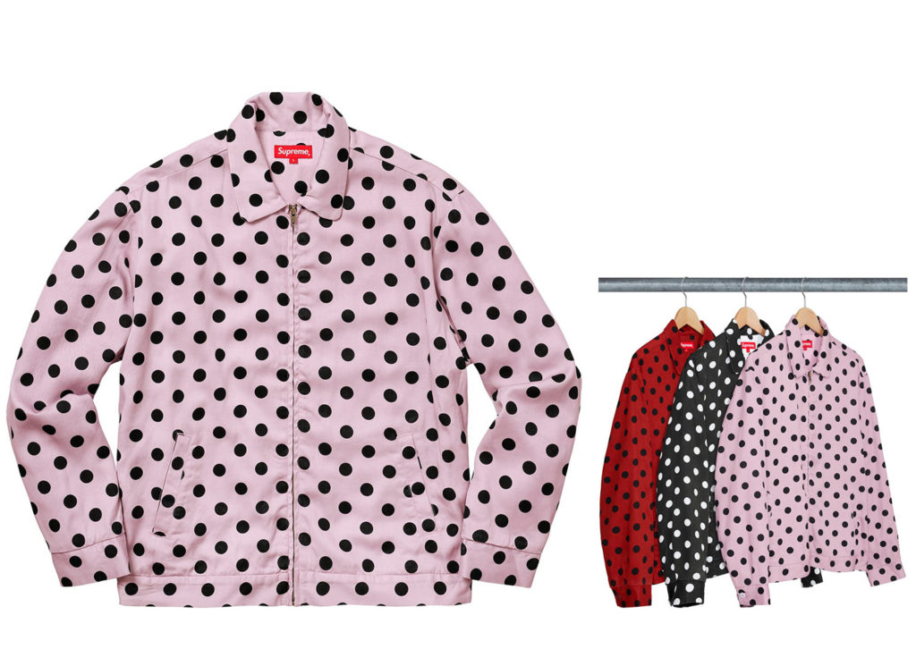 Polka Dots Rayon Work Jacket