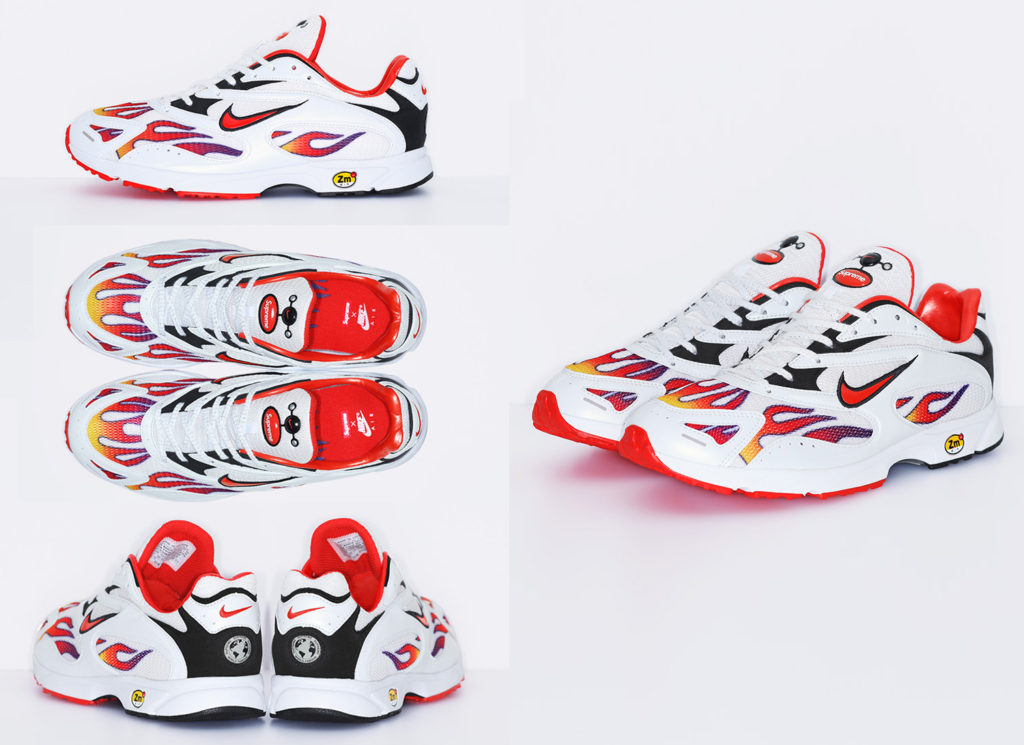 Supreme/Nike Air Strike Spectrum Plus White