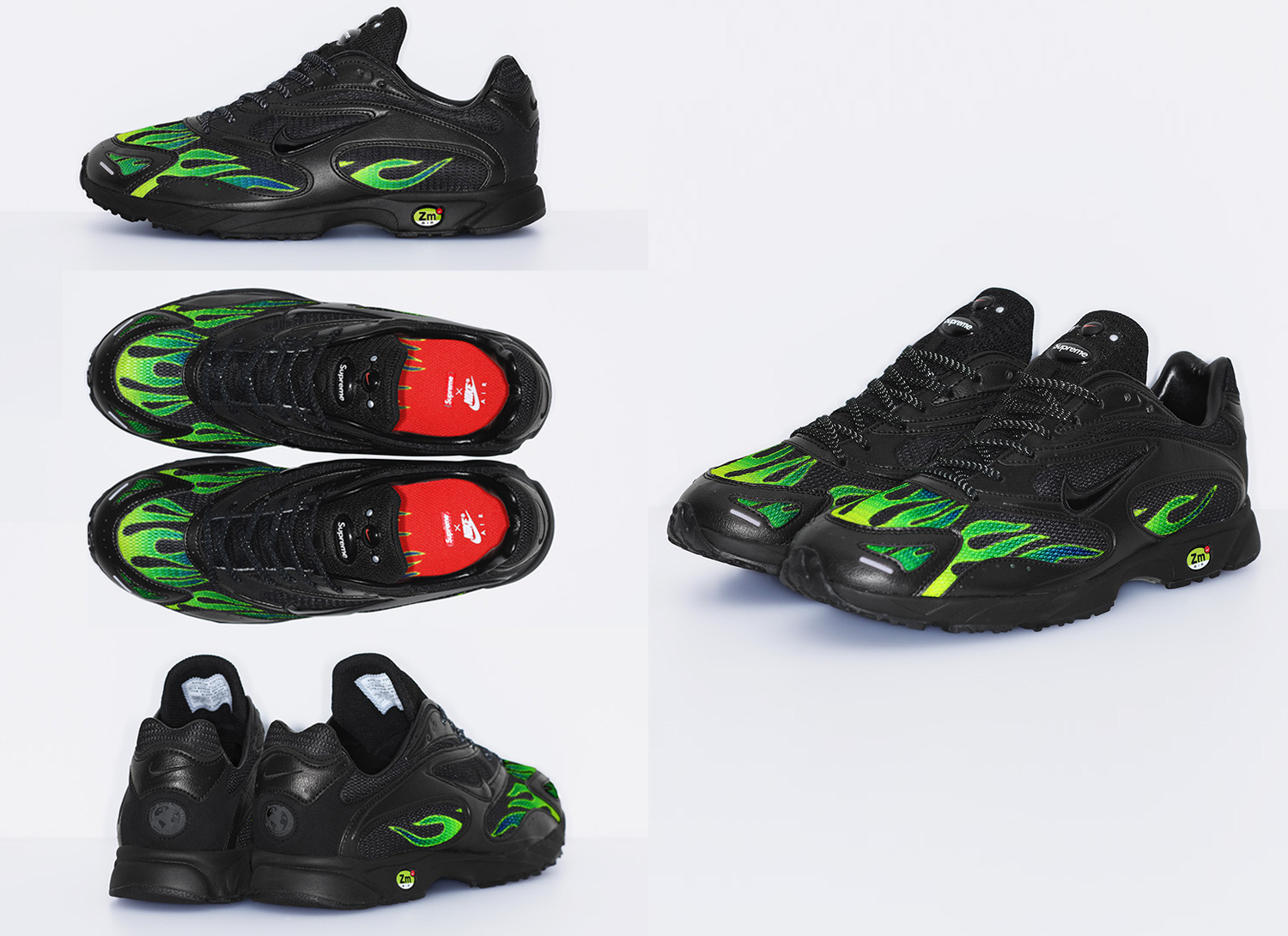 Supreme/Nike Air Strike Spectrum Plus Black
