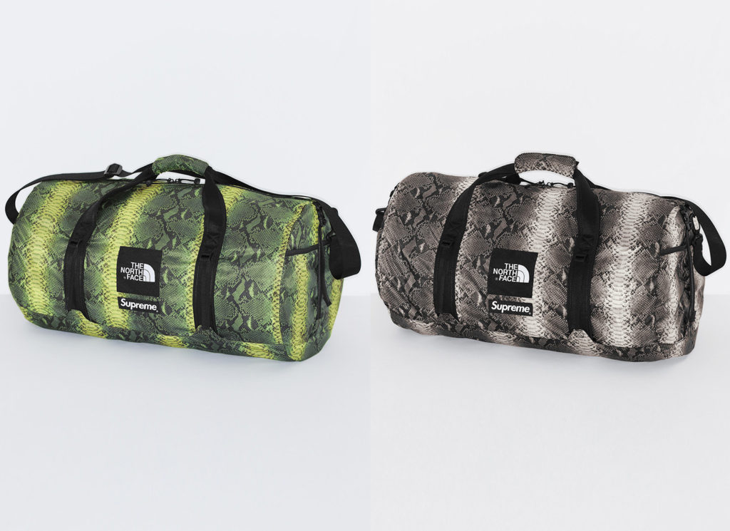 Supreme®/The North Face® Snakeskin Flyweight Duffle Bag
